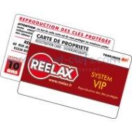 Carte de reproduction REELAX