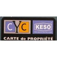 Carte de propriété CYC