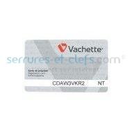 Carte de reproduction VACHETTE (profil réservé)