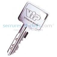 Clef VIP est remplacée par la clé VIP+ (vous recevrez donc la nouvelle génération de clé)