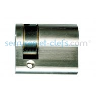 Cylindre 1/2 profilé IX6SR